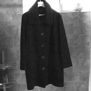 Virgin Wool / Cashmere Coat by Teenflo